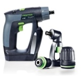 Festool 564274 CXS Compact Drill Driver Including Right Angle Chuck