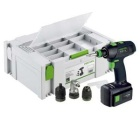 Festool 564250 T 15 + 3 14.4-Volt Lithium-Ion Cordless Drill/Driver Kit